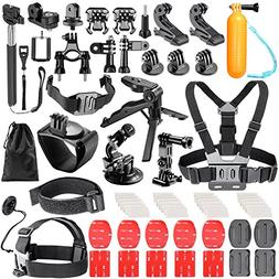 Neewer 62-in-1 Action Camera Accessory Kit for GoPro Hero 4/
