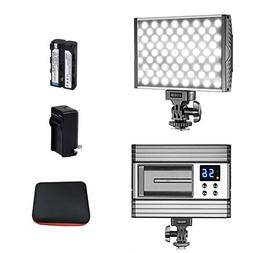 Led Video Light Kit - Ultra-thin 144 SMD Dimmable SLR DV cam