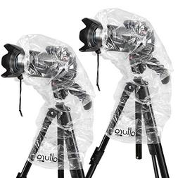 Altura Photo Rain Cover for DSLR Cameras with Lenses Up to