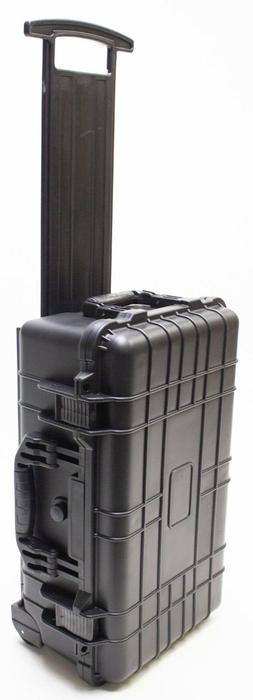 "22""  Rolling Case For Guns DSLR  Drones W/Pelican 1510 Style"