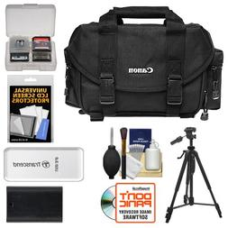 Canon 2400 Digital SLR Camera Case - Gadget Bag + LP-E6 Batt