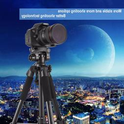 56 Inch Portable Tripod Camera Video DVR Stable Holder With