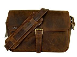 Basic Gear: Leather Camera Bag in Vintage Rustic Look for DS