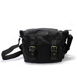 Camera Bag,DSLR Messenger Camera Bag with Removable Insert f