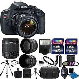 Canon EOS Rebel T5 DSLR Digital Camera & EF-S 18-55mm f/3.5-
