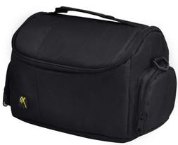 DSLR Digital Camera Camcorder Deluxe Padded Case Bag for Can