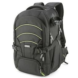 Evecase DSLR Camera Bag Backpack, Laptop Travel Large Waterp
