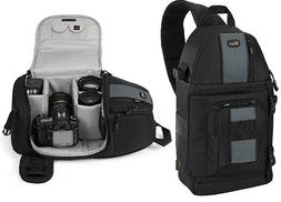 LowePro SlingShot 202 AW DSLR Sling Camera Bag with Padded &