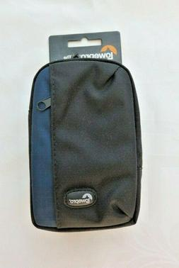 Lowepro - Newport 30 Camera Case - Black/galaxy Blue