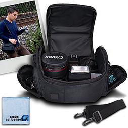 Medium Soft Padded Camera Equipment Bag / Case For Nikon 1 S