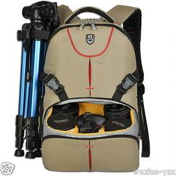 Multifunctional Deluxe Camera Backpack Bag Case for Sony Can