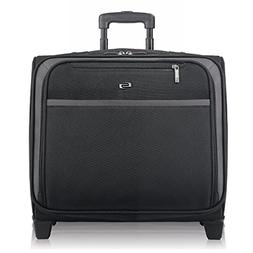 Solo Dakota 16 Inch Rolling Laptop Case with Overnighter Sec