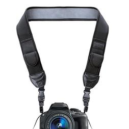 TrueSHOT Neoprene Camera Neck Strap with Quick Release Buckl