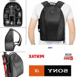 VIVITAR CAMERA BACKPACK BAG FITS DSLR & LENSES - Padded Case