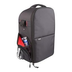 Vivitar Series 1 Trolley DSLR Camera Backpack Case with Whee