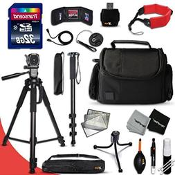 Xtech DSLR Camera Complete ACCESSORIES Kit for Canon EOS 70D