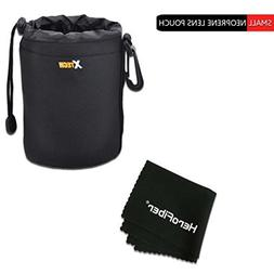 Xtech Small Soft Neoprene Lens Pouch for Canon EF 50mm f/1.8