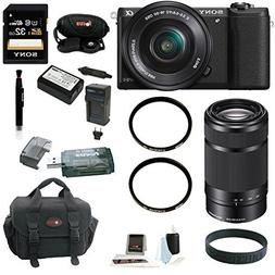 Sony a5100  24MP Interchangeable Lens Camera with 16-50mm Po