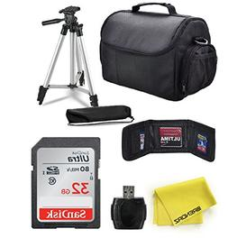 Professional Accessory Bundle Kit by BRENDAZ for all Canon,