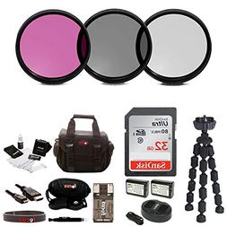 Accessory Bundle for Sony a6000, a6300, a6500, a7