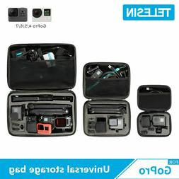 TELESIN Action camera Accessories Universal Storage Carry Ba