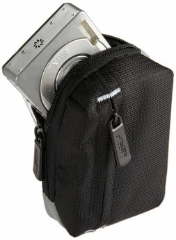 Amazon Basics Point & Shoot Compact Black Camera Case Bag Po