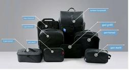 BAGSMART Anti-theft Fully Modular 7-piece, Changeable Backpa