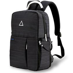 Forspark Camera Backpack with USB Charging Port, Anti-Shock