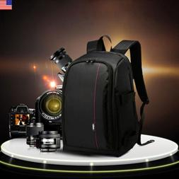 Backpack Camera DSLR Bag Case for Camera Lenses Laptop Photo