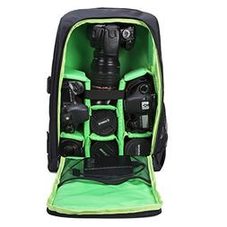 Backpack Camera DSLR bag case for Camera, Lenses Laptop, Pho