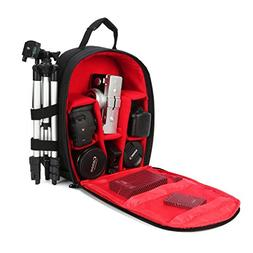 G-raphy Camera Bag Camera Backpack with Rain Cover for Canon