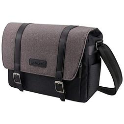 MOSISO Camera Bag, Water Repellent Polyester Large Shoulder