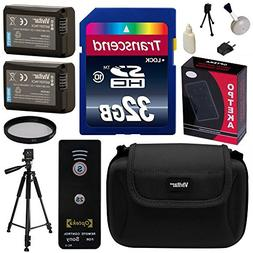 Beginner's Accessories Bundle Kit for Sony A3000, A3500, A50