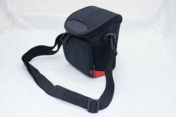 Black Camera case bag pouch for Canon Powershot SX540 HS or