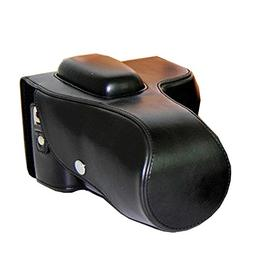 zdMoon Black Leather Camera case cover pouch bag Grip For Ni