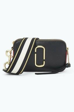 Marc Jacobs Black Snapshot Small Women's Camera Bag - Black