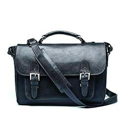 ONA - The Brooklyn - Camera Messenger Bag - Black Leather