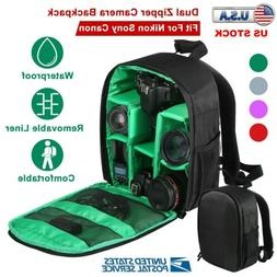 Camera Backpack Bag for Canon Nikon Sony DSLR Digital Shockp