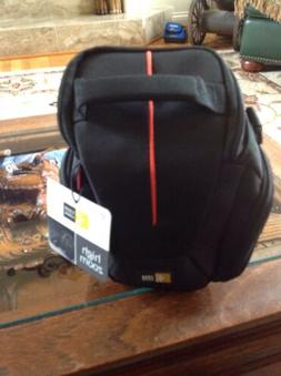 Case Logic Camera Bag, Black with red stripe down the center