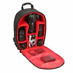 "Camera Bag Camera Backpack Waterproof 16"" X 13"" X 5"" by G-ra"