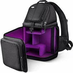 Camera Bag - Sling Bag Style Camera Case Backpack with Modul