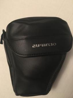 Olympus Camera Case Soft Faux Leather With Belt Loop