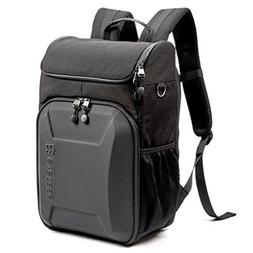 Evecase Camera Laptop Bag Backpack DSLR Hard Shell Case Wate