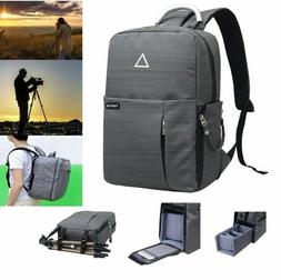 Camera Photo Bag Backpack Outdoor Travel Bag for Canon Nikon