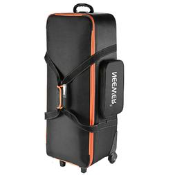 Neewer Camera Rolley Carry Bag Straps Padded Compartment Whe