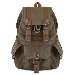 Kattee Canvas DSLR SLR Camera Backpack Rucksack Bag for Sony
