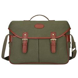 S-ZONE Fashion Canvas DSLR SLR Vintage Camera Bag Messenger