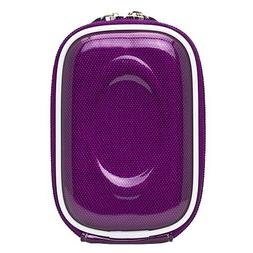 Carbon Fiber Purple Durable Slim Protective Storage Cover Cu