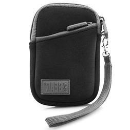 USA GEAR Compact Digital Camera Case - Compatible with Sony