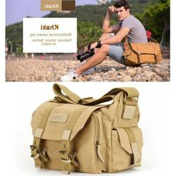 Casual Canvas DSLR SLR Vintage Digital Camera Gadget Shoulde